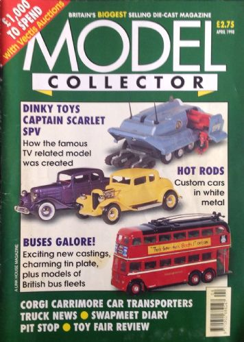 ORIGINAL MODEL COLLECTOR MAGAZINE April 1998
